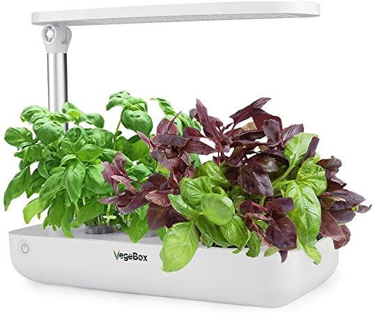 Amazon.com : VegeBox Smart LED Hydroponics Growing System, Indoor .