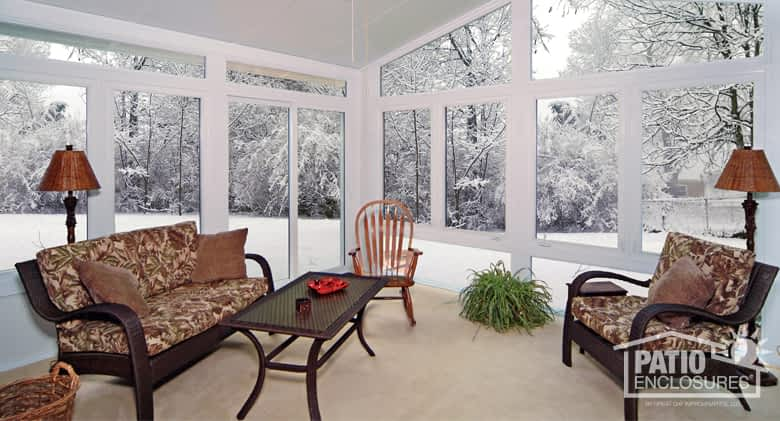 How to Heat a Sunroom in the Cold Winter Months -