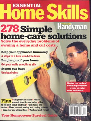 Family Handyman Essential Home Skills: The Family Handyman: Amazon .