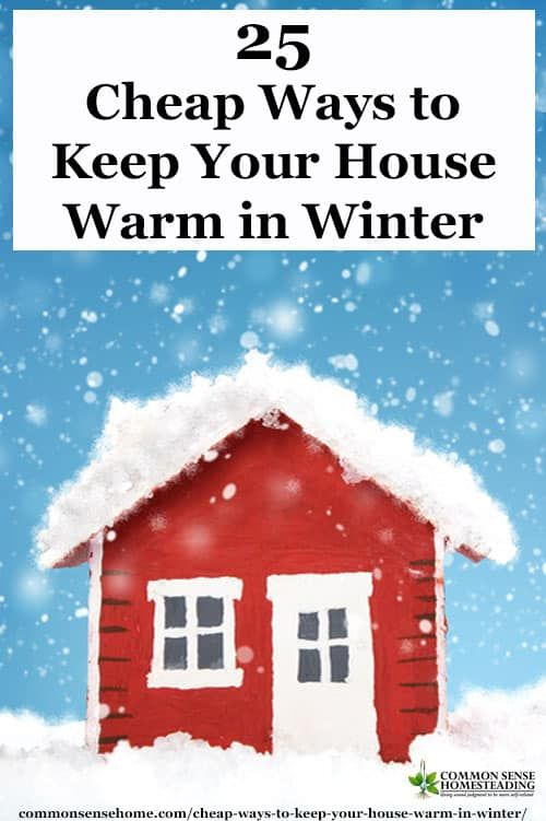How to keep your home warm in the long   winter