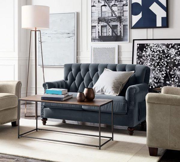 How to Light a Living Room with No Overhead Lighti