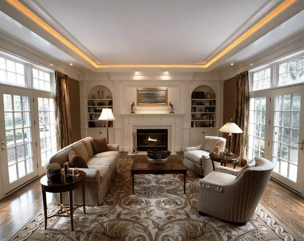 How To Light A Living Room With No Overhead Lighting : Great Home .