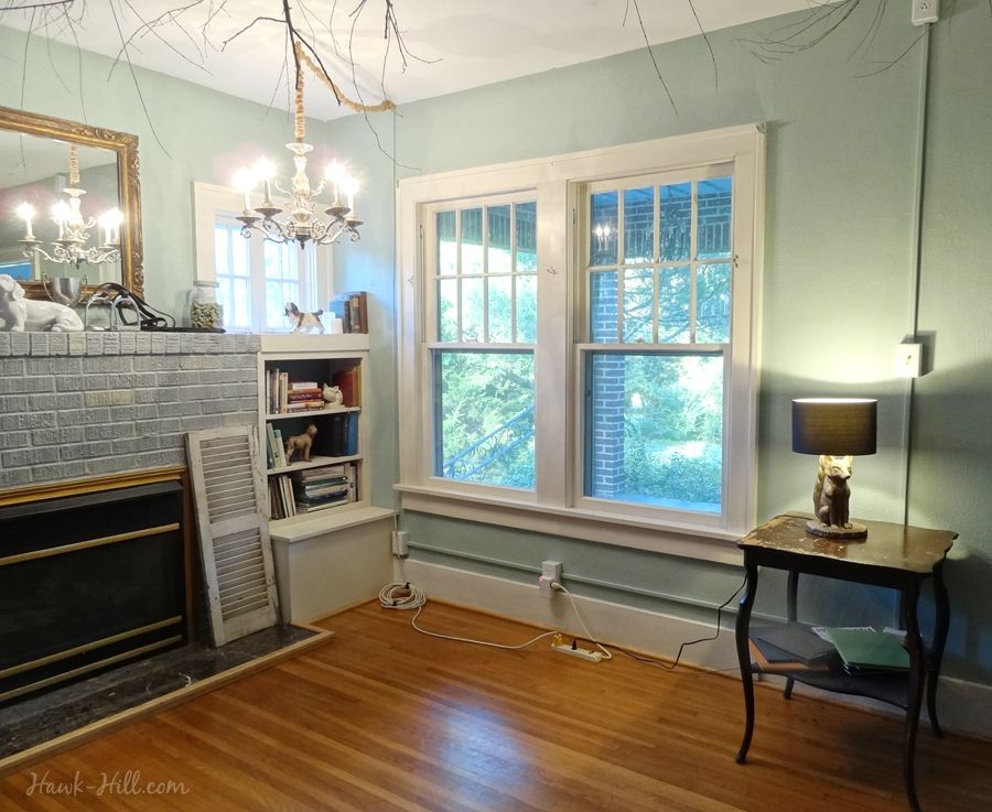 How to illuminate a living room without   ceiling lighting