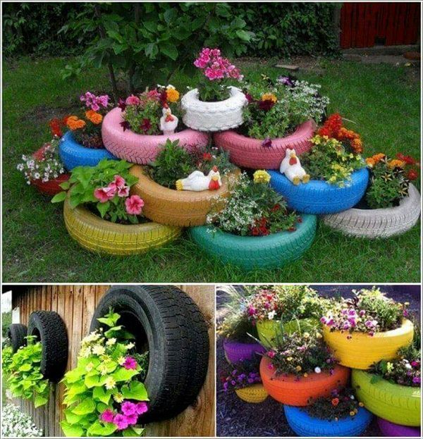 18 Cool DIY Ideas To Make Your Garden Look Great | Balcony Garden W
