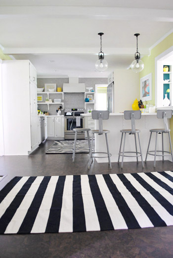 And Now For A Kitchen Rug Fashion Show | Young House Lo
