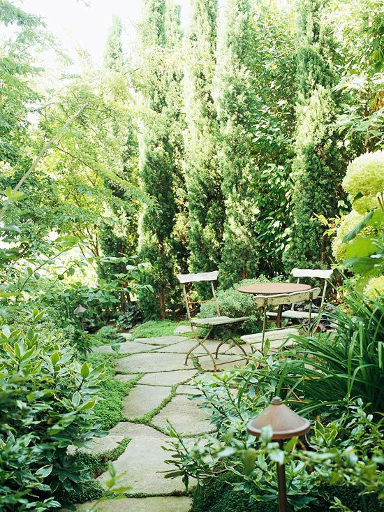16 Simple Solutions for Small-Space Landscapes | Small backyard .