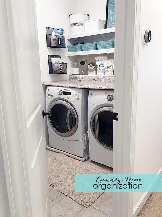 Laundry Room Organization & Giveaway | A Bowl Full of Lemo