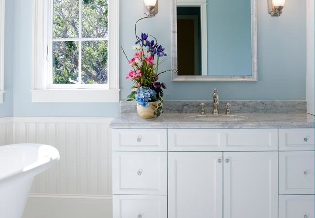 How to Paint Bathroom Cabinets | Bob Vi