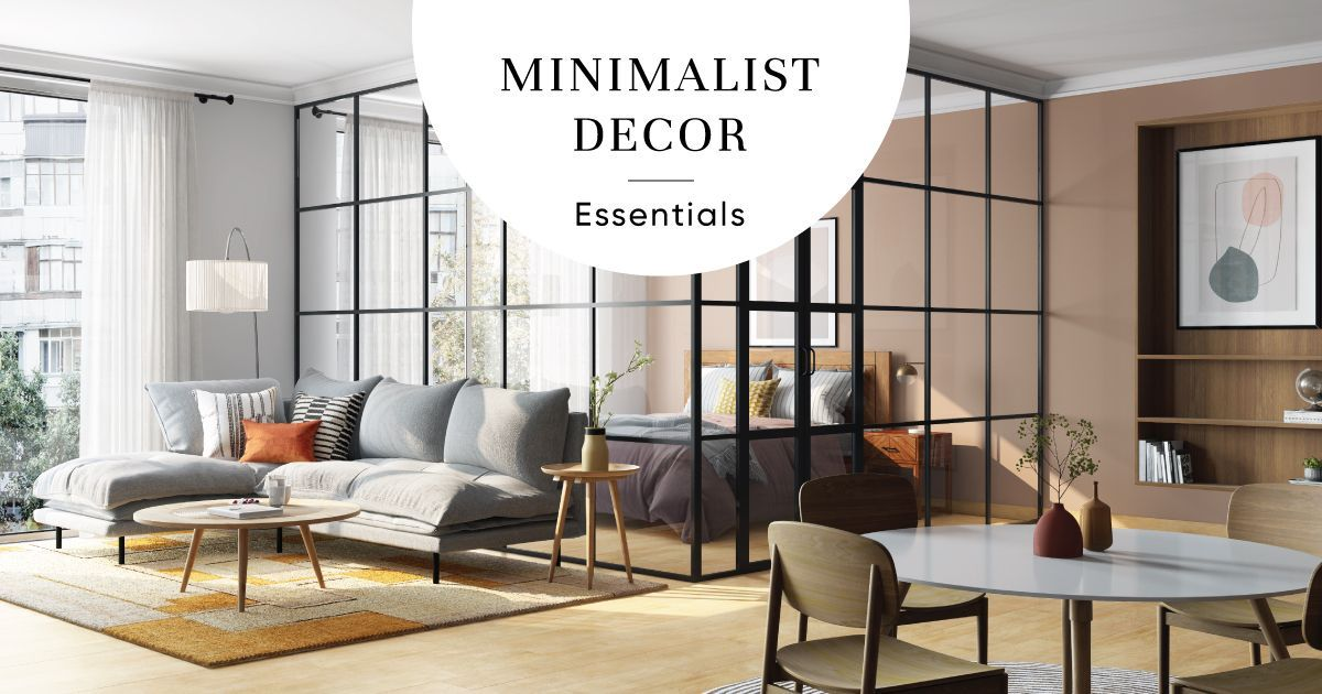 How to create the minimalism trend in   your home