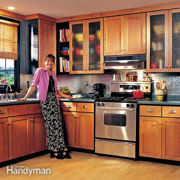 How to Refinish Kitchen Cabine