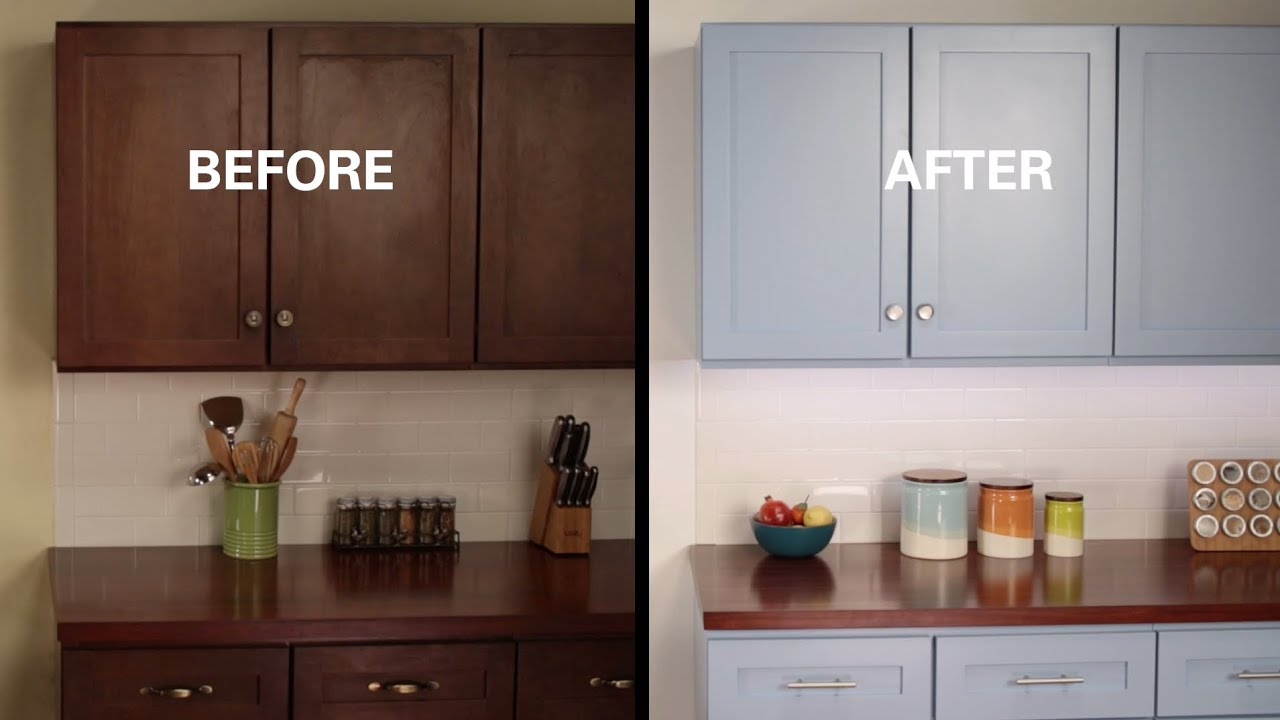 How to rework kitchen cabinets to look   beautiful and new