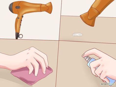 Remove Candle Wax   Candle wax, Remove wax, Homemade wood stai