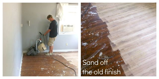How to remove carpet and refinish wood floors: PART 1 - Classy .
