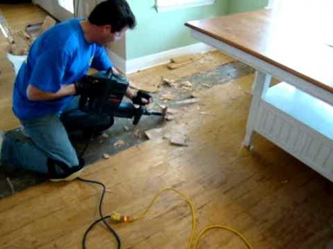 how to remove hardwood floors.mpg - YouTu