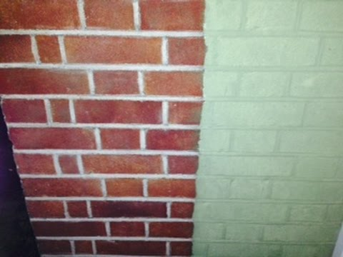 Paint Stripper - How To Remove Old Paint from Brick and Brickwork .