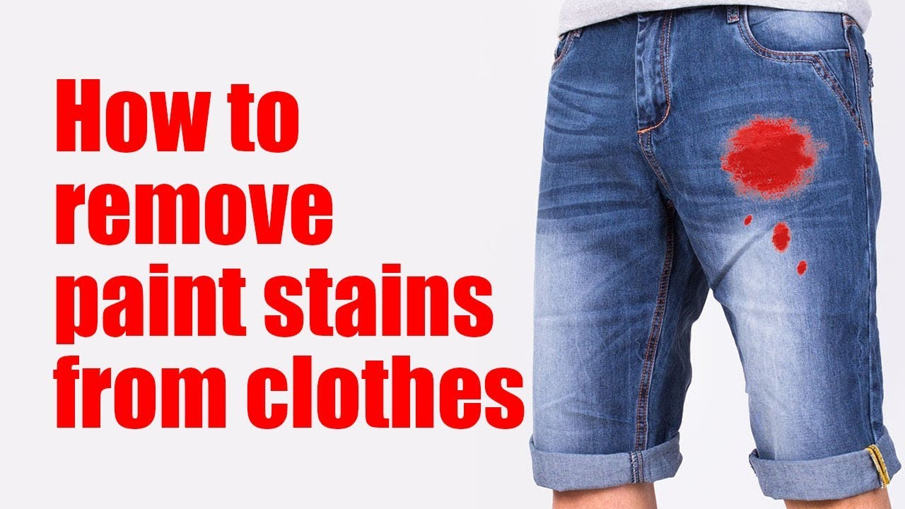 How to remove color from garments without ruining them