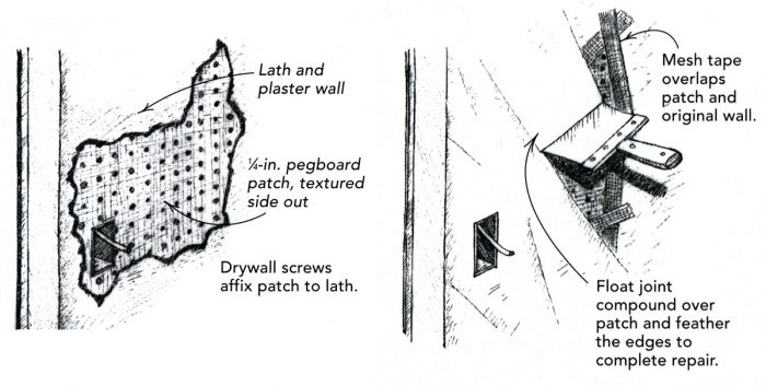 Repairing Plaster Walls - Fine Homebuildi