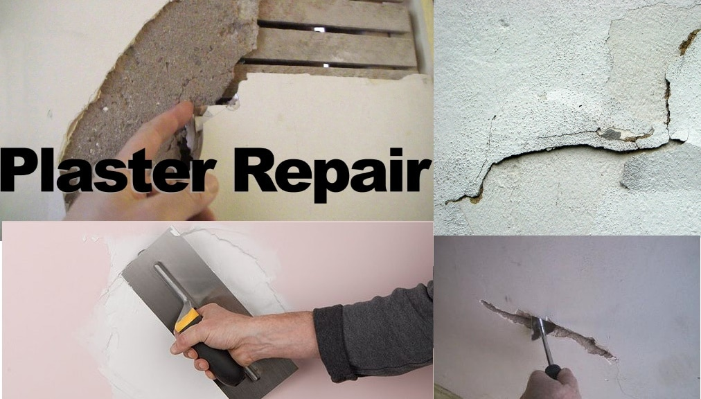 How to repair plaster walls and ceilings   in your house
