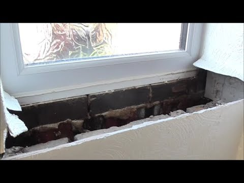 Why MDF is no good. Replacing water damaged window cill - YouTu