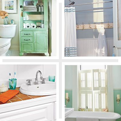 25 Thrifty Ways to Redesign Your Bathroom on a Dime | Bathrooms .