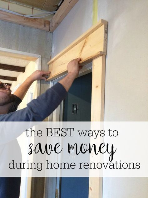 How to save money during home renovations | Home renovation, Home .