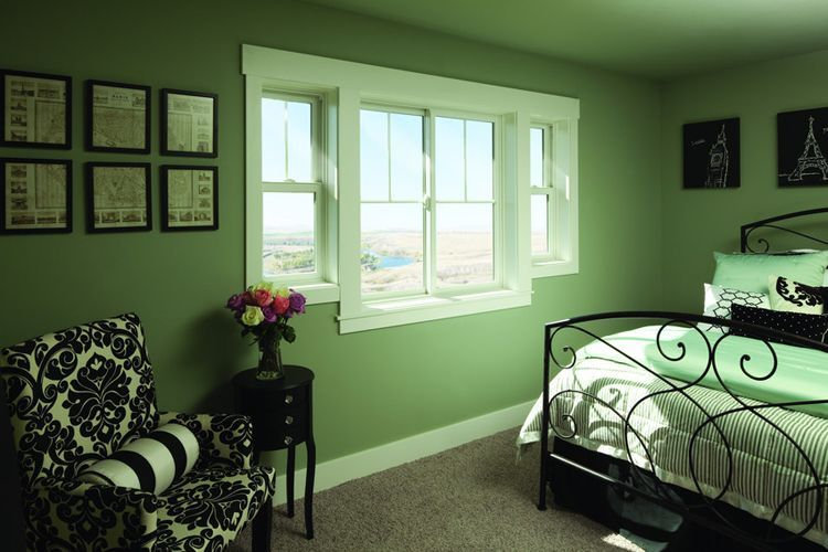 windows | Single hung windows, Home bedroom, Bedroom renovati