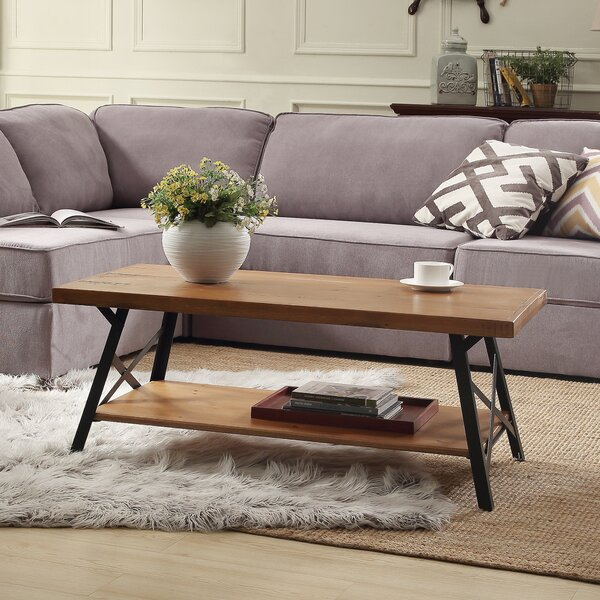 Three Posts Tyronza Coffee Table & Reviews | Wayfa