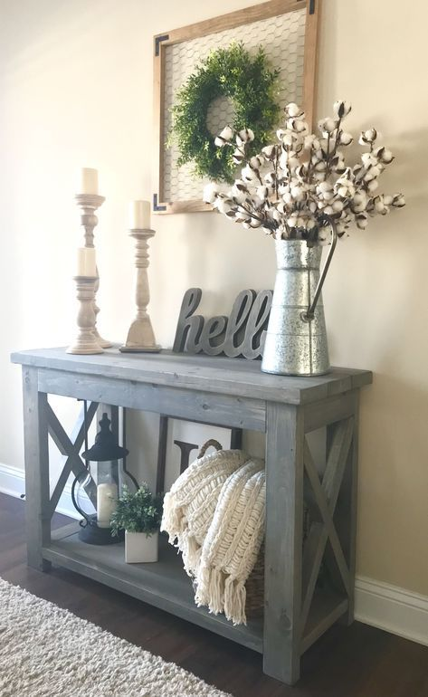 20+ Beautiful Entry Table Decor Ideas to give some inspiration on .