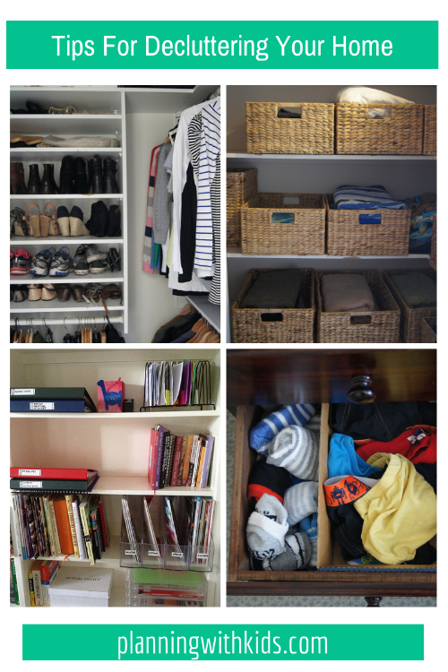 Tips For Decluttering Your Home | Planning With Ki