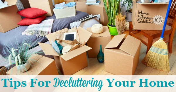 Decluttering Tips For Your Home: How To Find Your Path To Peace .