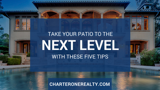 Take Your Patio To The Next Level With These Five Ti