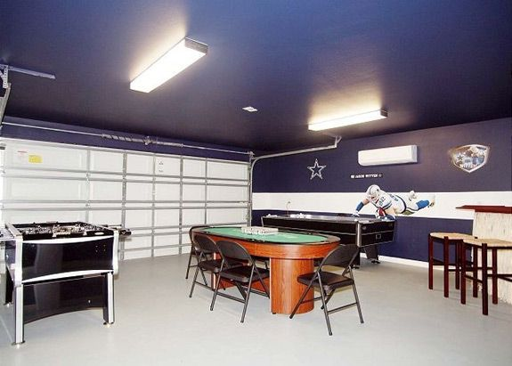 Convert Your Garage Into A Play Den | Garage game rooms, Man cave .