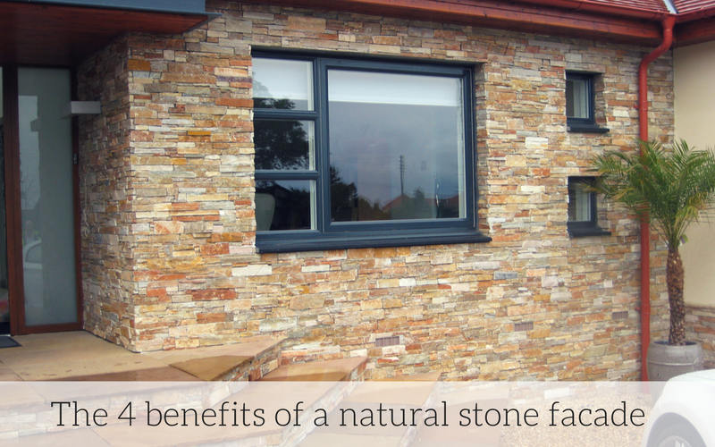 The 4 benefits of a natural stone facade for your ho