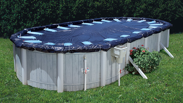 Winterize an Above Ground Pool for Freezing Conditions - Leslie
