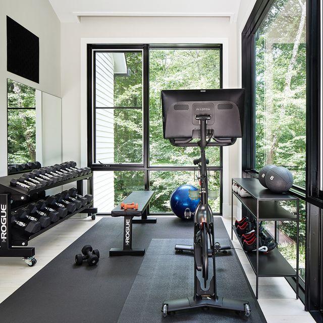 10 Home Gym Ideas - Small Space Home Gym Ins
