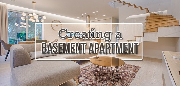 Converting a Basement Into an Apartment | Budget Dumpst