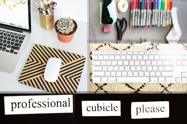 Cubicle Decor Ideas That Are Totally Geni