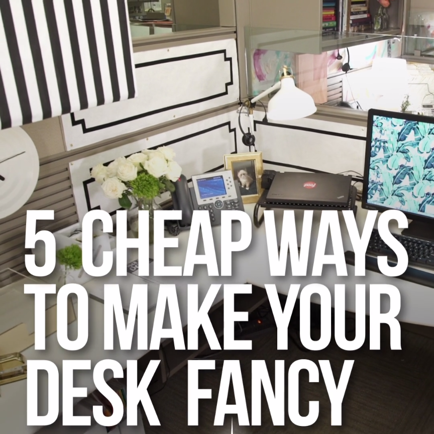 Ideas to spice up your desk