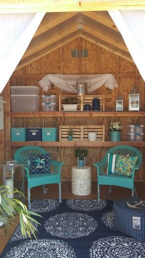 20 DIY She Shed Decor Ideas for Women   Shed interior, Shed decor .