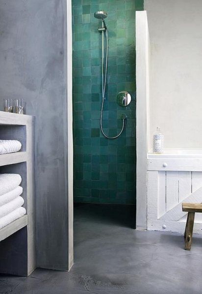 Color Spotlight: Make a Statement with Venetian Green | Bathroom .