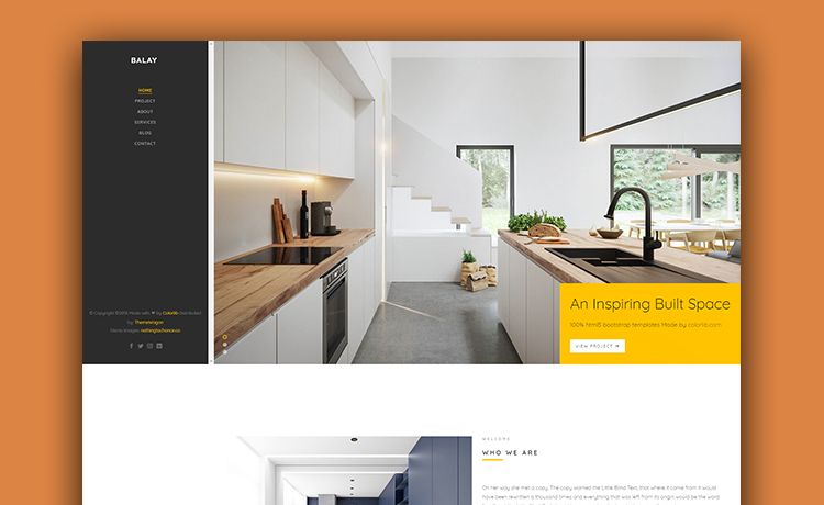 Make Your Website Great With This Free Interior Design Portfolio .