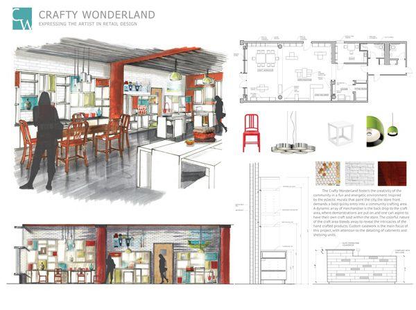 interior design student portfolio examples - Google Search .