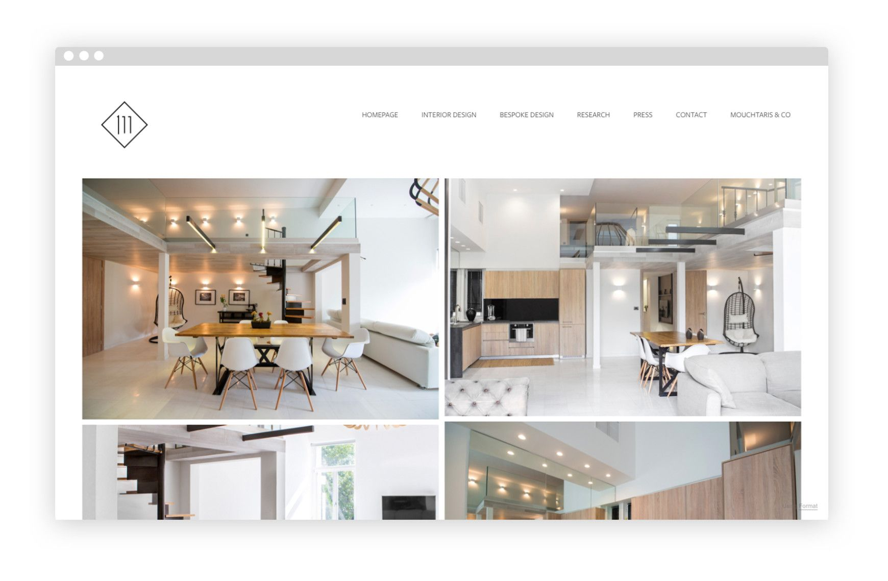 Examples of interior design portfolios   that inspire you