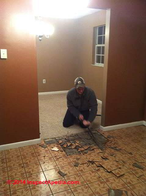 Asbestos Floor Tile / Sheet Flooring Removal Procedure Q&A on .