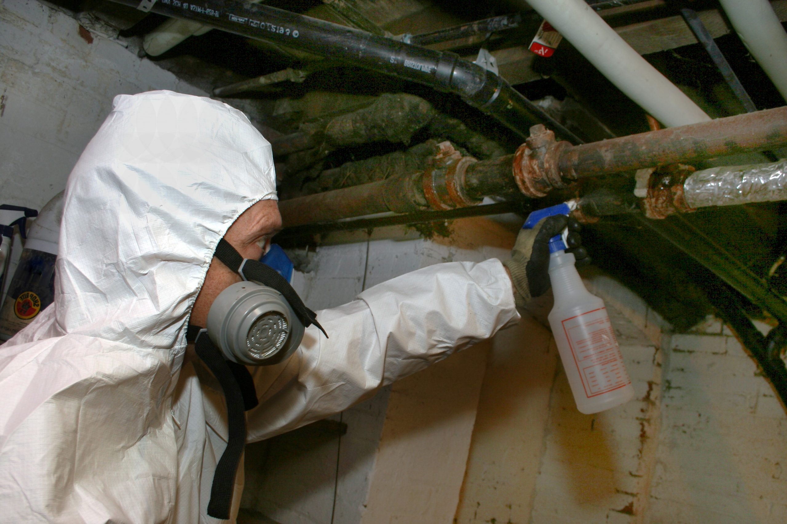 Is it OK to remove asbestos yourself?