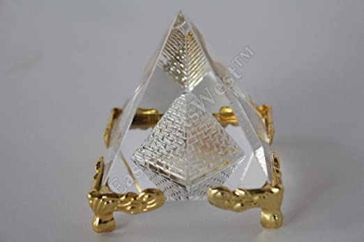"Amazon.com: LuckyGifts 2"" Feng Shui Egypt Egyptian Crystal Clear ."