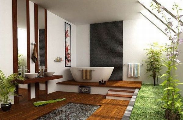 18 Stylish And Tranquil Japanese Bathroom Desig