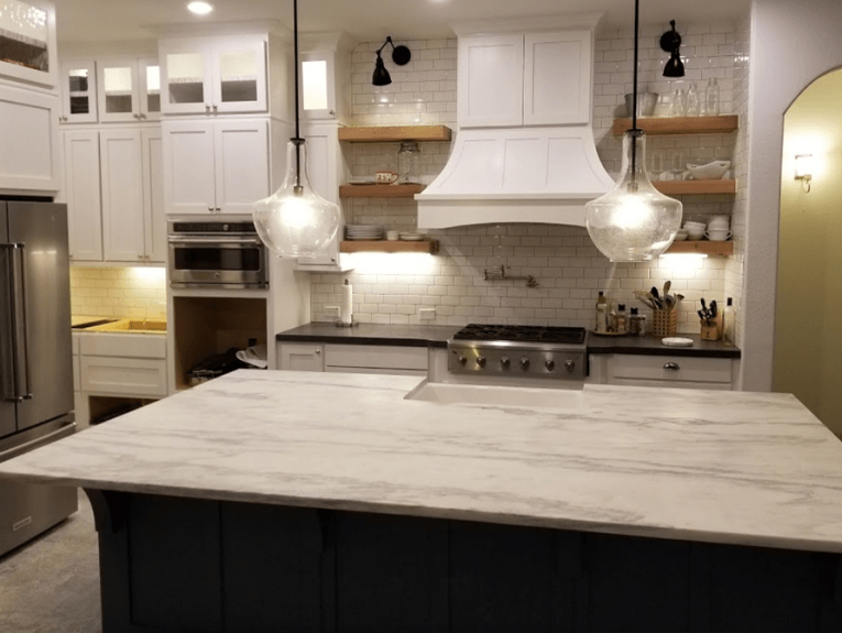 Custom Countertop Fabrication & Installation | King's Granite & Marb
