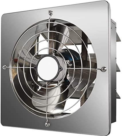 Amazon.com: LNDDB Small Exhaust Wall Fans for Bathroom Kitchen .