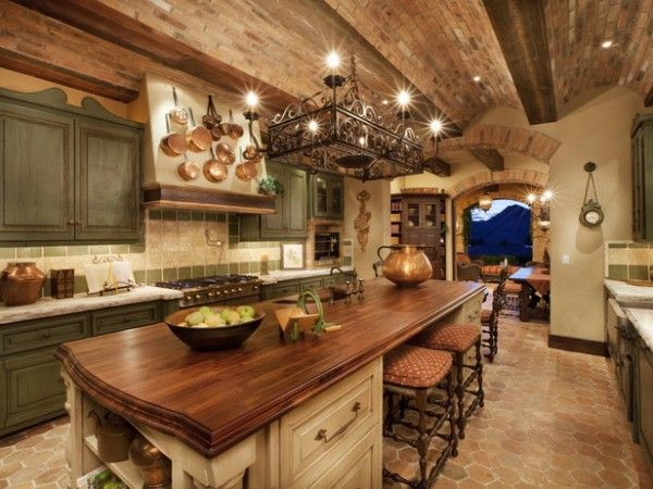How to Achieve the Elegant Tuscan Style for Your Kitchen | Tuscan .